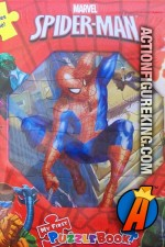 Five puzzles in one, Spider-Man puzzle book.