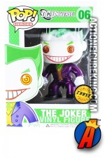 Funko DC Comics Pop! Heroes Target Exclusive variant Metallic JOKER figure number 6.