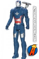 12-inch scale Titan Hero Series Iron Patriot figure.