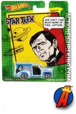 2013 STAR TREK Pop Culture Mr. SCOTT die-cast vehicle from HOT WHEELS.