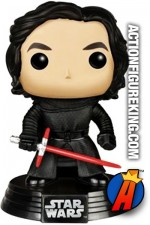 Funko Pop! STAR WARS KYLO REN Unmasked Vinyl Bobblehead Figure No. 87.