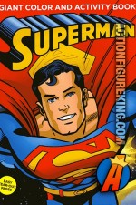 Giant Superman Color and Activity Book from Meredith.