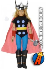 Mego repro style Thor action figure from DST.