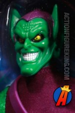 Mego-style 9-inch Marvel Signature Series Green Goblin action figure from Hasbro.