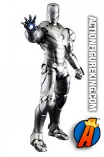 Hot Toys presents this sixth-scale Iron Man Mark II action figure.