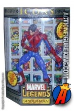 12 Inch Marvel Legends Spider-Man Unmasked variant from their short-lived Icons series.