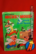 Mickey Mouse: Adventure in Outer Space A Big Little Book from Whitman.
