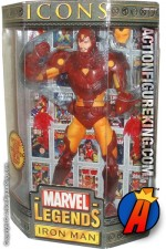 12 Inch Marvel Legends Iron Man from their short-lived Icons series.
