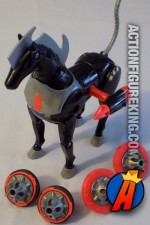 Micronauts 3.75-inch scale Andromeda action stallion from Mego.