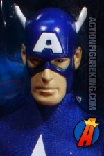 Mego-style 9-inch scale Captain America action figure from Hasbro.