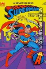 Superman Coloring Book 1144-7 from Golden.