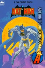 Batman coloring book from Golden.