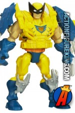 Fully articulated 6-inch Marvel Super Heroe Mashers Wolverine action figure from Hasbro.