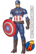 12-inch scale Titan Hero Tech electronic Captain America figure.