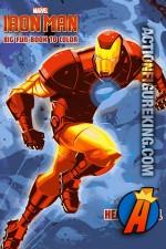 2013 Iron Man Heavy Metal Hero Coloring Book from Dalmatian Press.