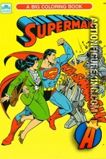 Superman - A Big Coloring Book from Golden.