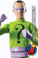 A detailed view of the Riddler from this Classic TV Series Batman series.