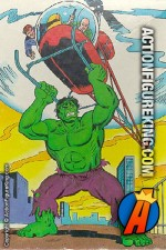 Whitman 200-Piece The Incredible Hulk Lift-Off jigsaw puzzle.