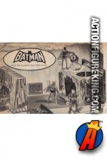Mego Batcave Playset for their 8-inch action figures.
