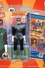 Mego-style eight-inch Super Friends Green Lantern action figure.