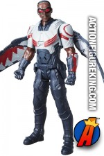 CIVIL WAR Titan Hero Series Electronic talking FALCON action figure from HASBRO.
