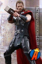 Avengers Age of Ultron Thor action figure from Hot Toys.