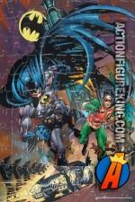 Amazing art on this Mattel Batman 100-Piece jigsaw puzzle.