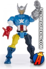 Six-Inch Marvel Super Hero Mashers Figures from Hasbro.