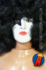 1977 Mego sixth scale Paul Stanley action figure with authentic fabric outfit.