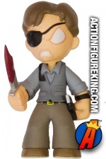 Walking Dead Mystery Minis variant Governor with bloody knife figure.