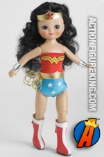 Wonder Woman Tiny Betsy McCall from Tonner Dolls.