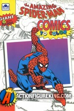 The Amazing Spider-Man Comics to Color from Golden and Gold Key.