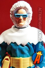 Detailed view of this Mattel Retro-Action 8 inch Captain Cold Figure.