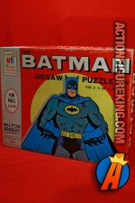 1966 The Batman Puzzle Game from Milton Bradley.