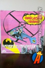 Mego 3.75-inch Comic Action Heroes Batman and Flying Batcopter vehicle.
