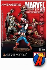 Marvel Universe  355mm AVENGERS Metal Figures from Knight Models.