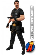 The EXPENDABLES 2 BARNEY ROSS Action Figure from DST.