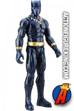 Hasbro Titan Hero Series Sixth-Scale BLACK PANTHER Action Figure.