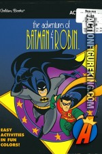 The Adventures of Batman and Robin activity book from Golden.
