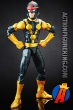 Marvel LEGENDS GOTG KID NOVA part of the TITUS Build-A-Figure Series.