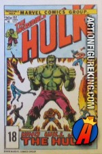 18 of 24 from the 1978 Drake's Cakes Hulk comics cover series.