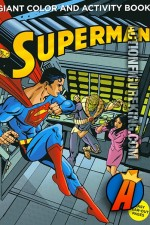 Giant Superman Color and Activity Book from Meredith Publishing.