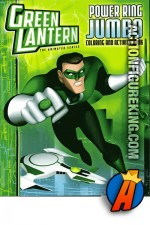 Front cover of the Green Lantern Coloring and Activity Book from Bendon Publishing.