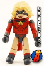 Marvel Minimates Ms. Marvel figure with 14-points of articulation from the Dark Avengers Box Set 2.