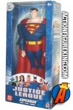 Justice League Animated 10-inch scale Superman roto figure from Mattel.