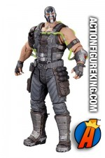 Massive 8.25-inch high Bane action figure from Batman - Arkham Origins Series 1 by DC Collectibles.