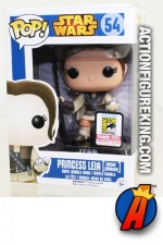 Funko Pop! STAR WARS SDCC Exclusive LEIA as BOUSHH Unmasked Figure.