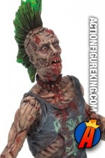 The Walking Dead Series 3 Punk Rock Zombie action figure.
