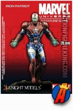 Marvel Universe 35mm IRON PATRIOT Metal Figure from Knight Models.
