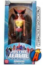 Justice League animated series 10-inch Hawkgirl roto figure from Mattel.